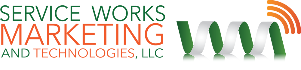 Header image with Service Works Marketing and Technologies logo image